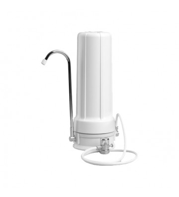 """Oxygon CERAMIC 10""""x2,5"""" Bell water filter over the sink with activated carbon water filter Oxygon X-Clear 0,5μm WPC-PN000228"""