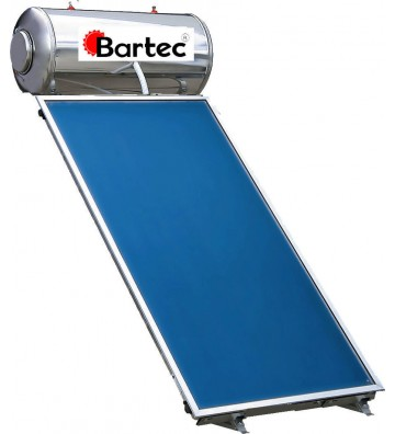 Βartec 150lt / 2,5m² Glass...