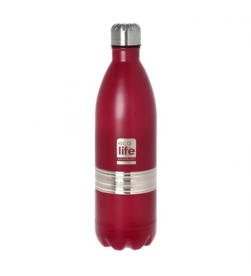 Red thermos 1L